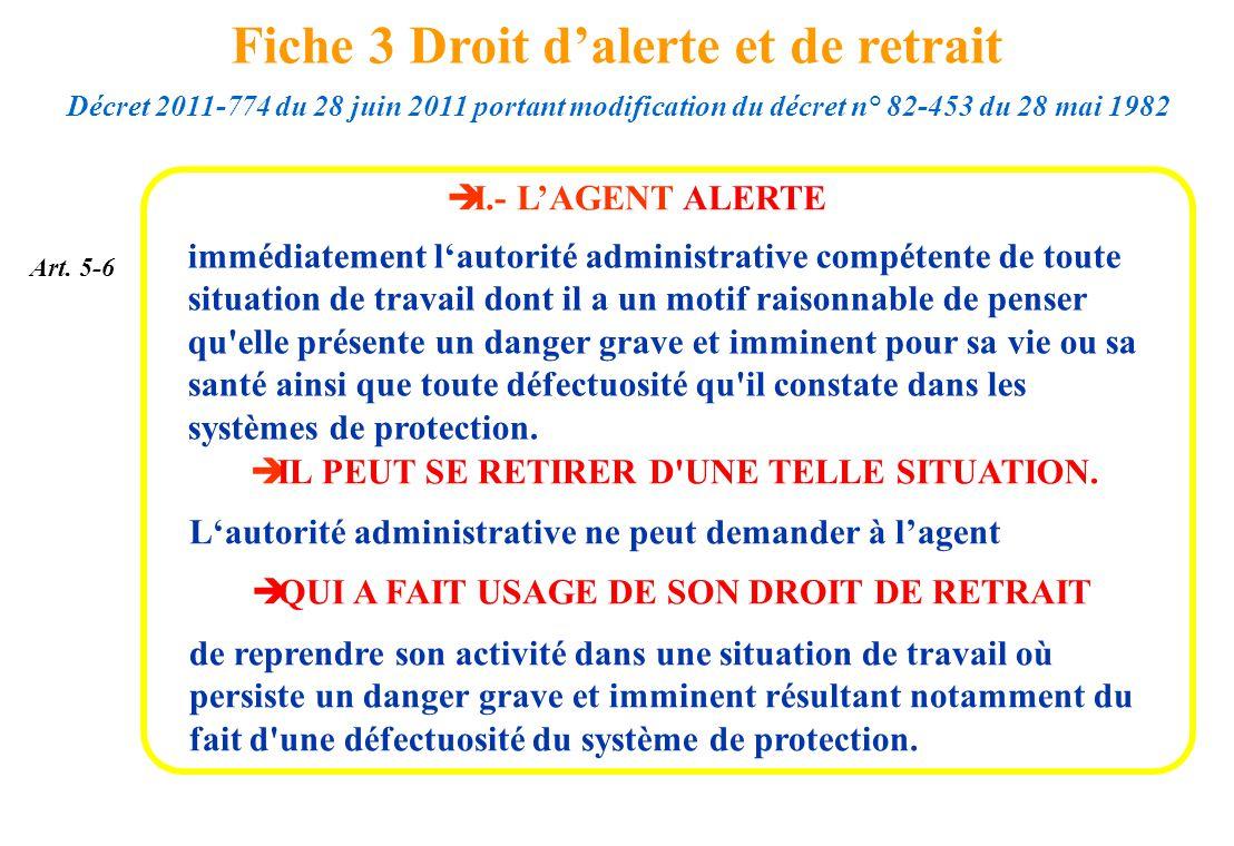 Fiche 3 Droit d'alerte et de retrait