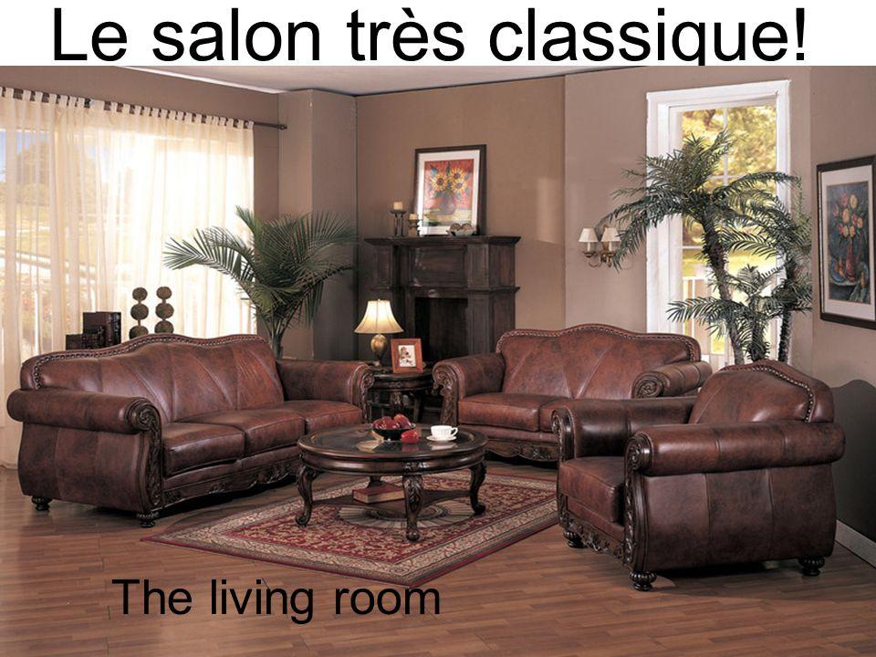Le salon très classique!