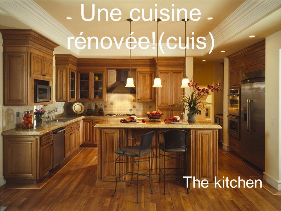 Une cuisine rénovée!(cuis)