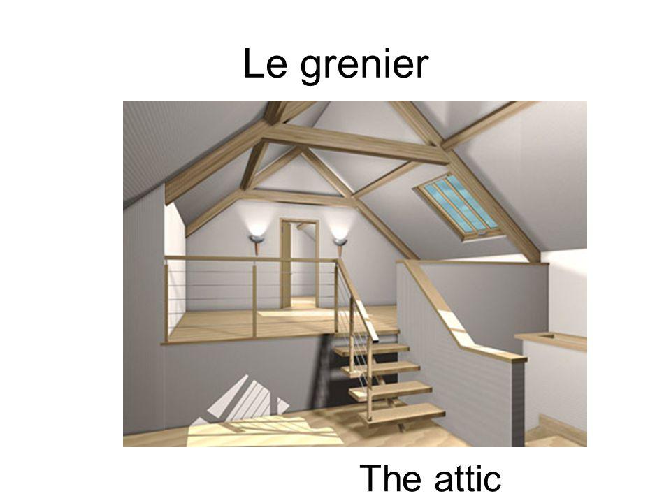 Le grenier The attic