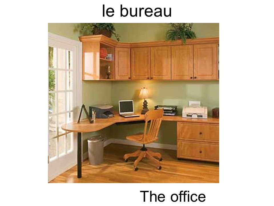 le bureau The office