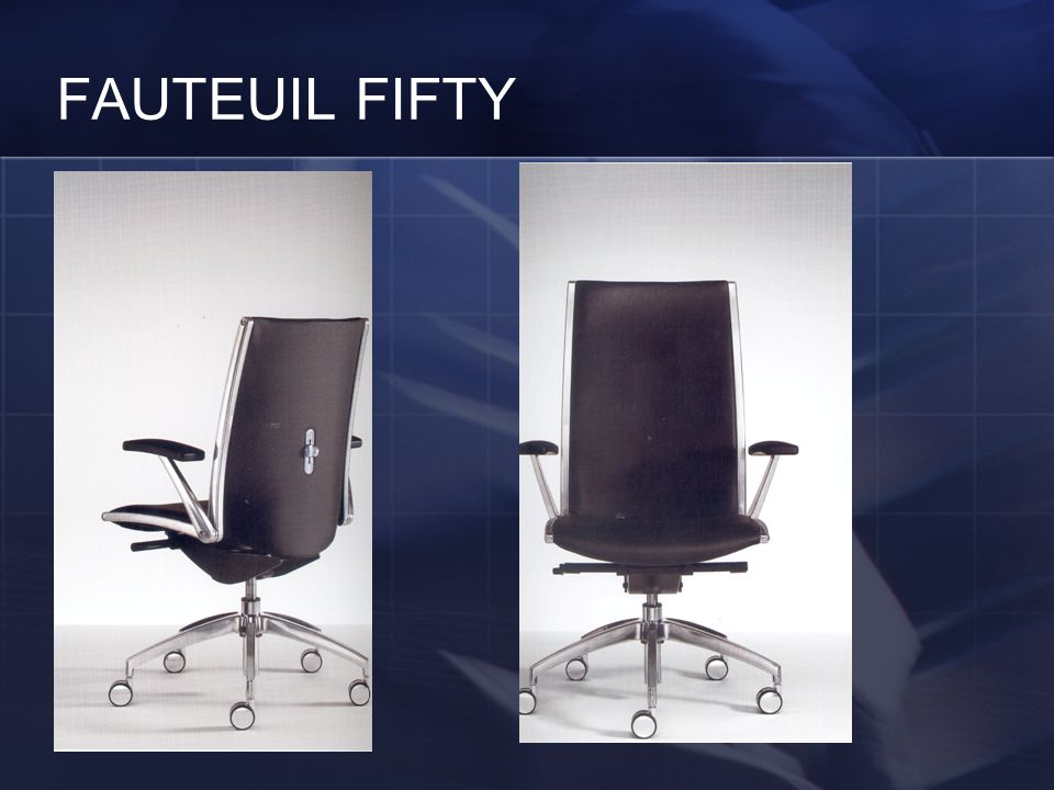 FAUTEUIL FIFTY
