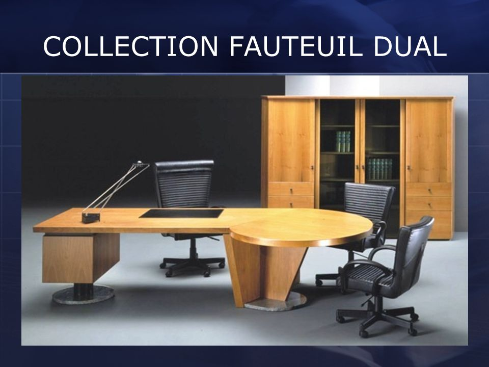 COLLECTION FAUTEUIL DUAL