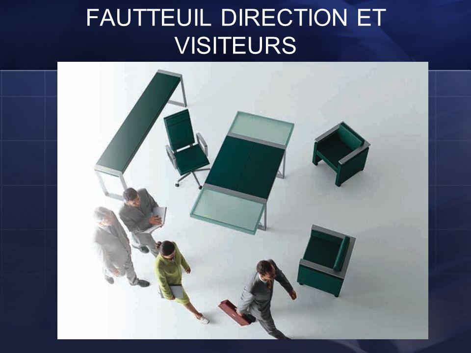 FAUTTEUIL DIRECTION ET VISITEURS