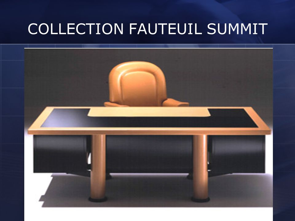COLLECTION FAUTEUIL SUMMIT