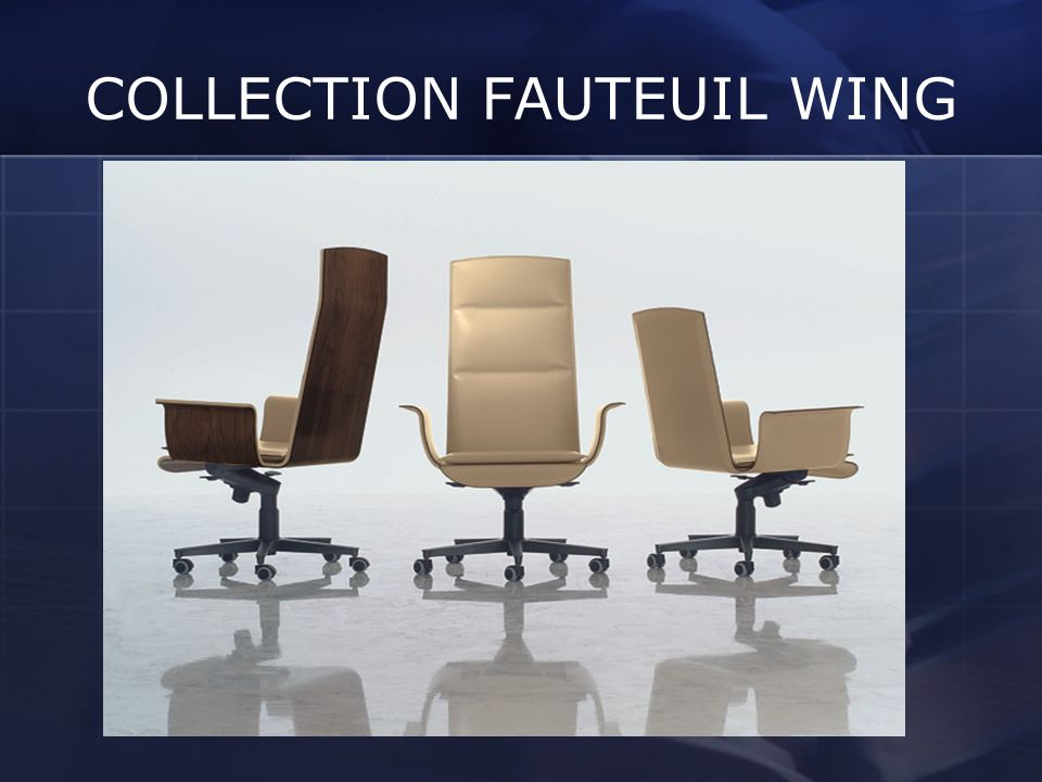 COLLECTION FAUTEUIL WING