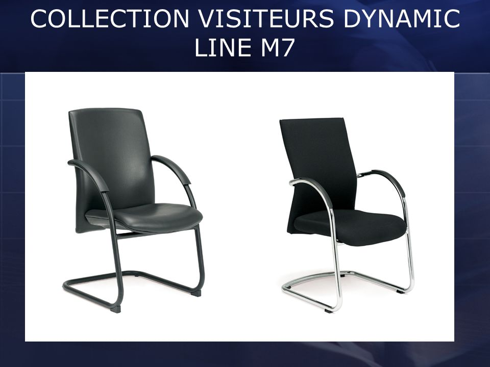 COLLECTION VISITEURS DYNAMIC LINE M7