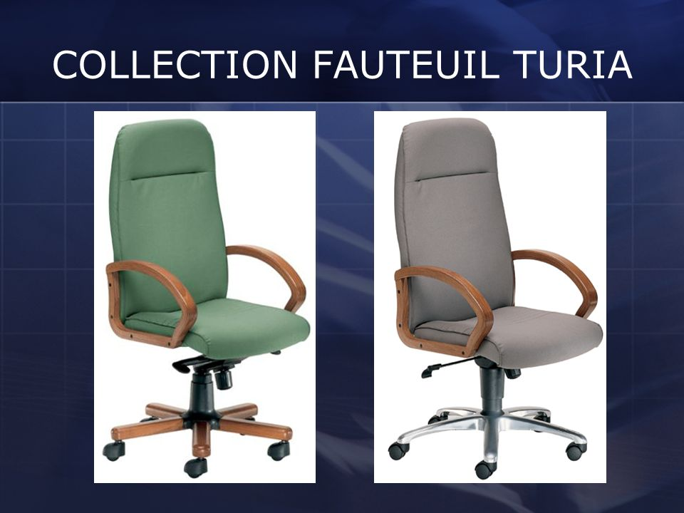 COLLECTION FAUTEUIL TURIA