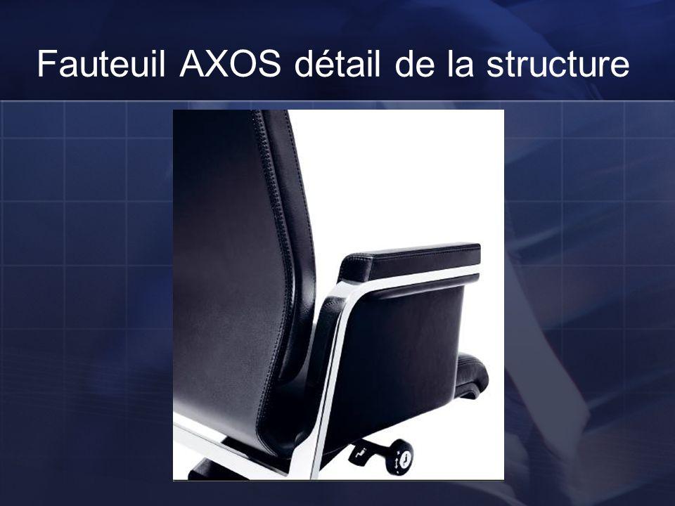 Fauteuil AXOS détail de la structure