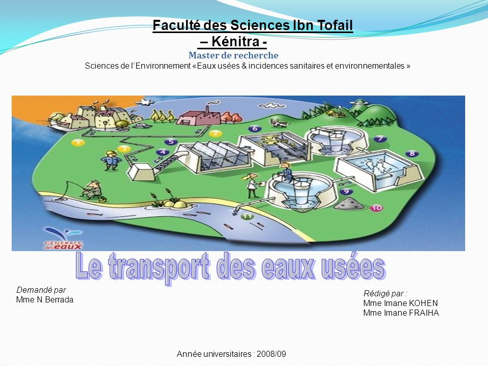 Le transport des eaux usées