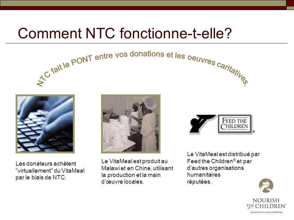 Comment NTC fonctionne-t-elle