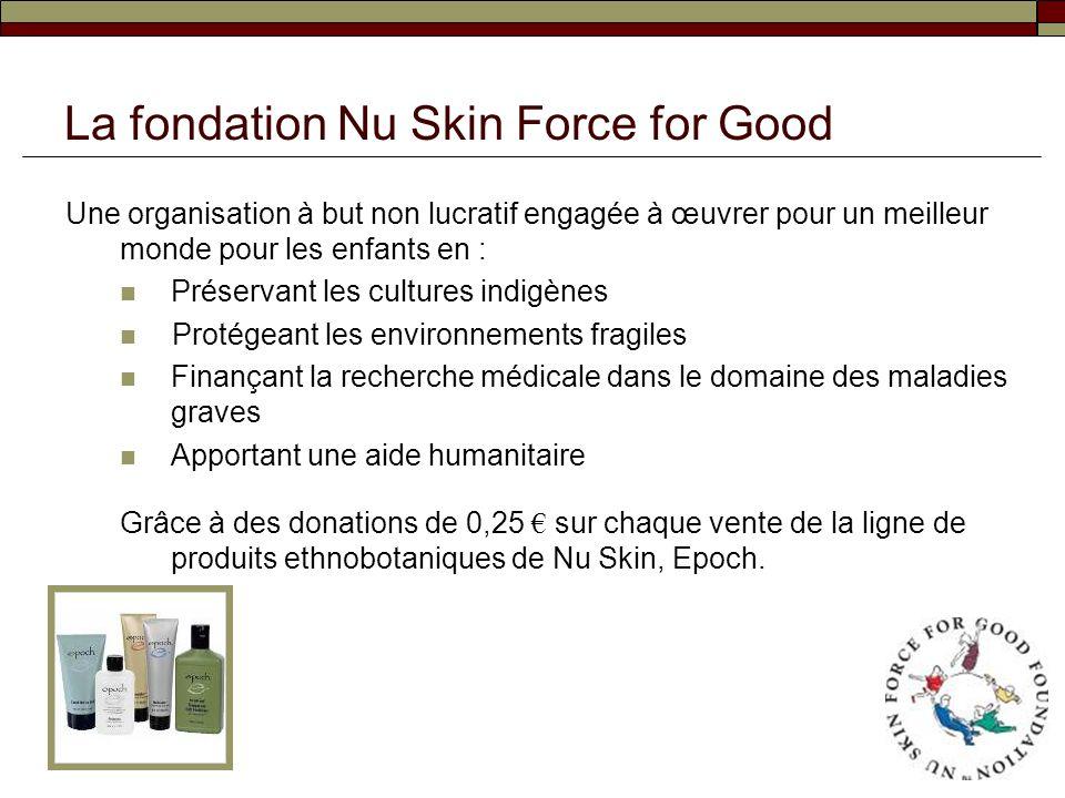 La fondation Nu Skin Force for Good