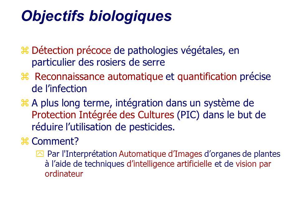 Objectifs biologiques