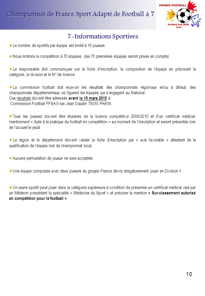 7-Informations Sportives