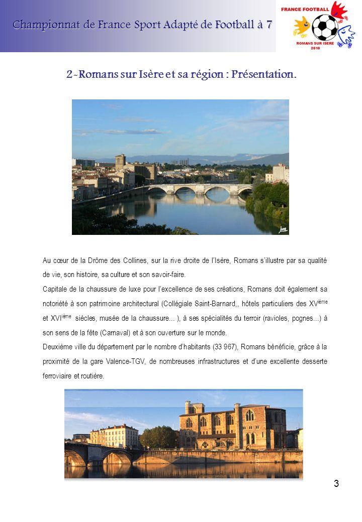 2-Romans sur Isère et sa région : Présentation.