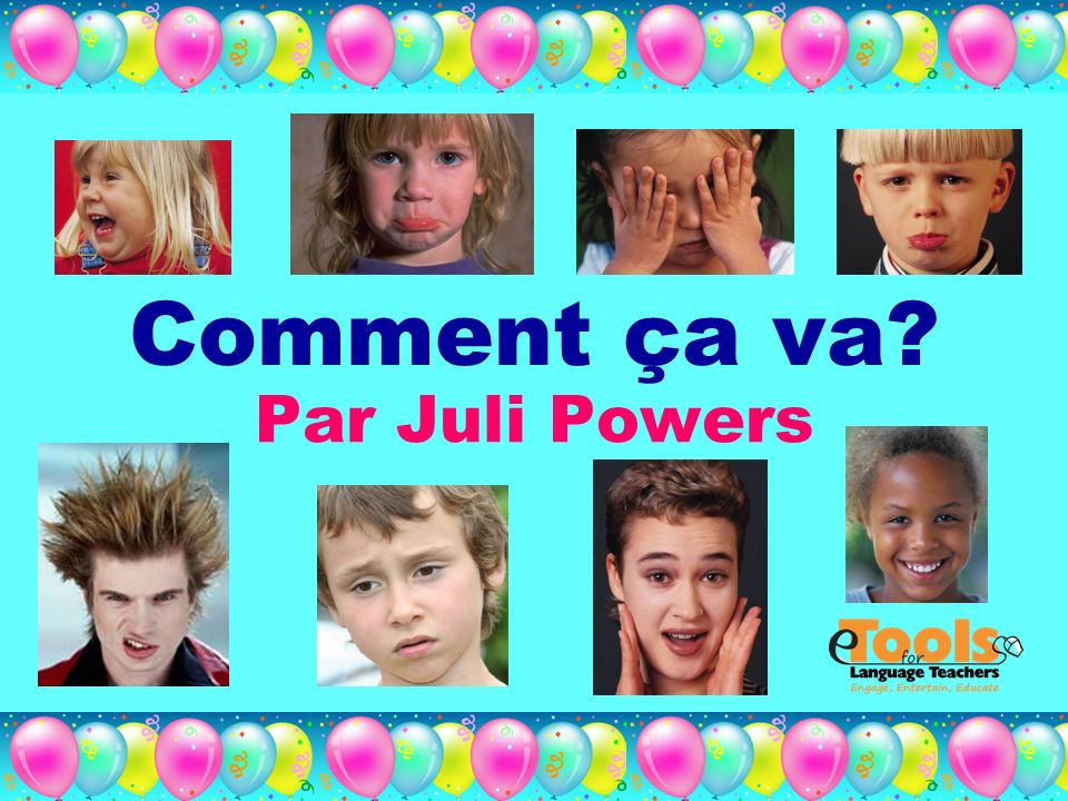 Comment ça va Par Juli Powers