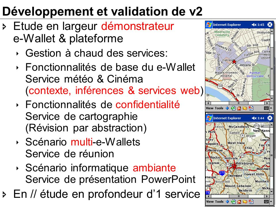 Développement et validation de v2