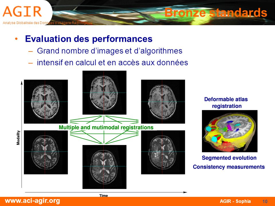 Bronze standards Evaluation des performances
