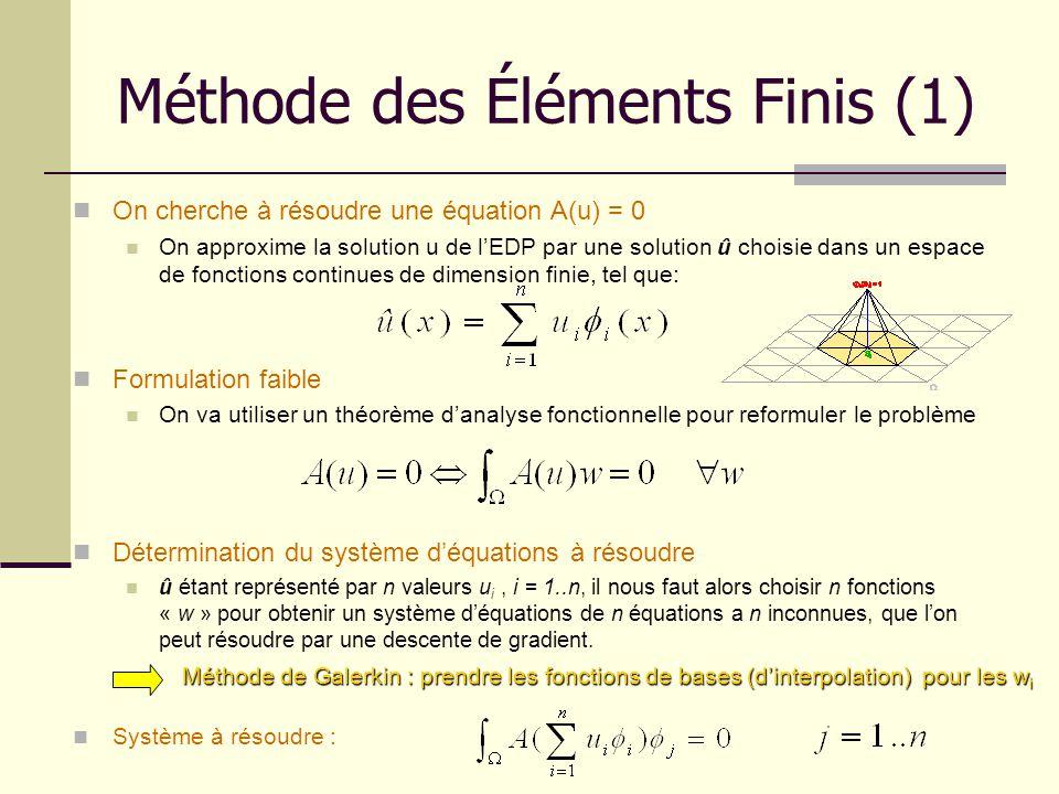 Méthode des Éléments Finis (1)
