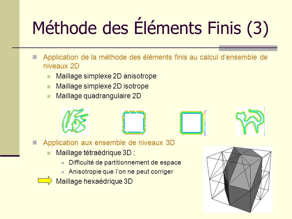 Méthode des Éléments Finis (3)