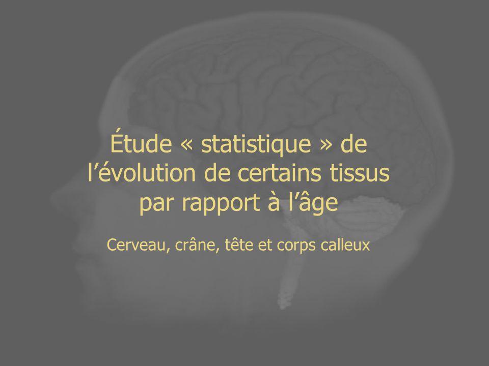 Cerveau, crâne, tête et corps calleux