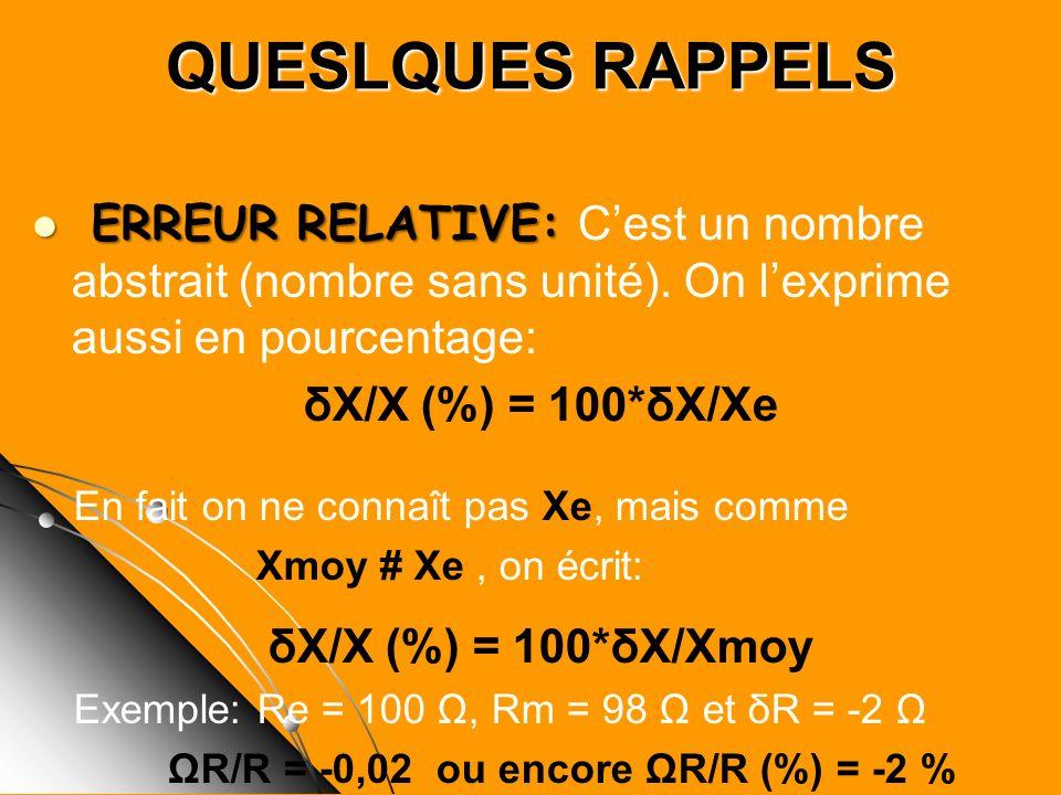 ΩR/R = -0,02 ou encore ΩR/R (%) = -2 %