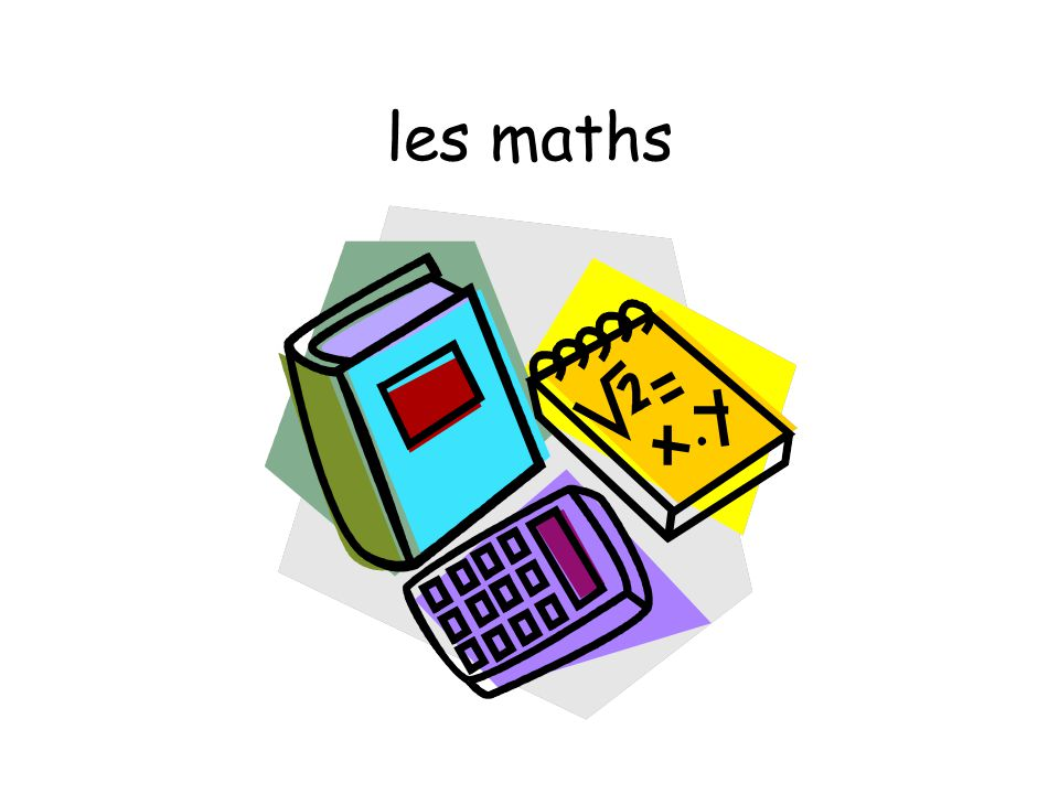 les maths