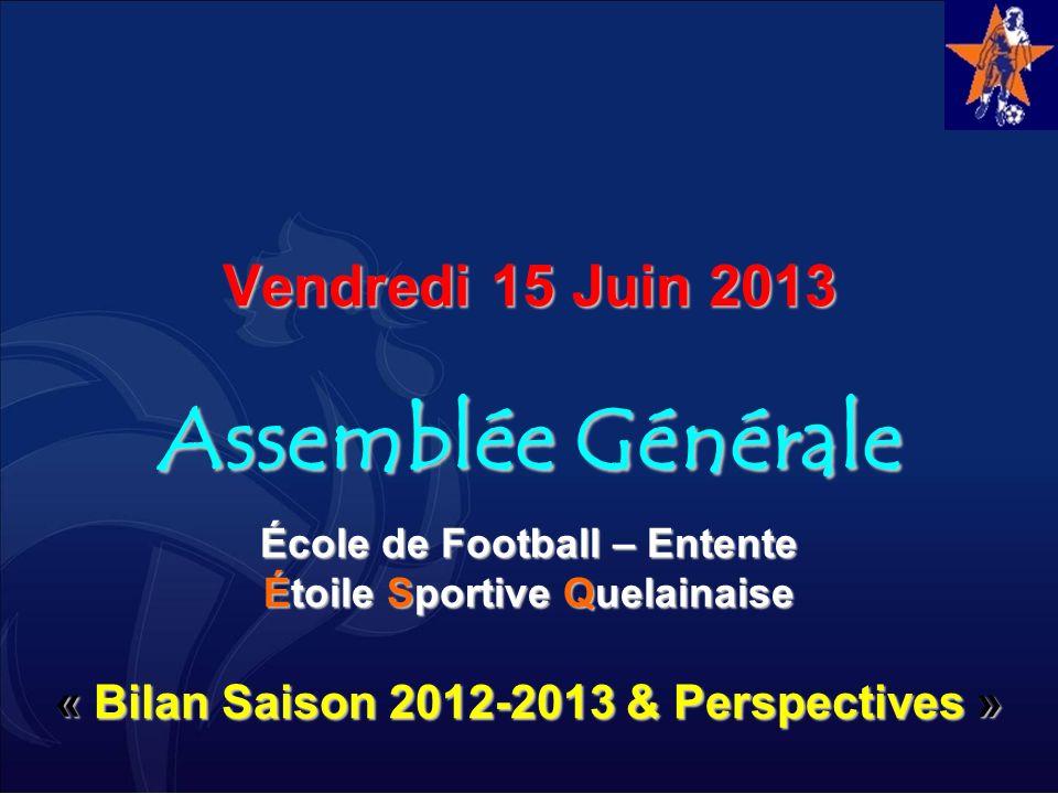 Vendredi 15 Juin 2013 Assemblée Générale