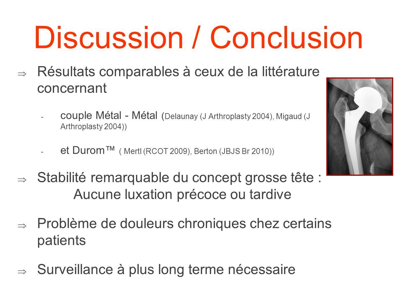 Discussion / Conclusion