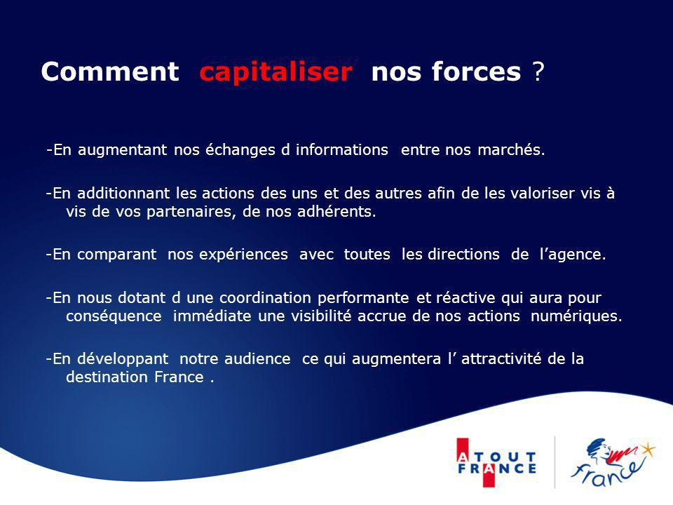 Comment capitaliser nos forces
