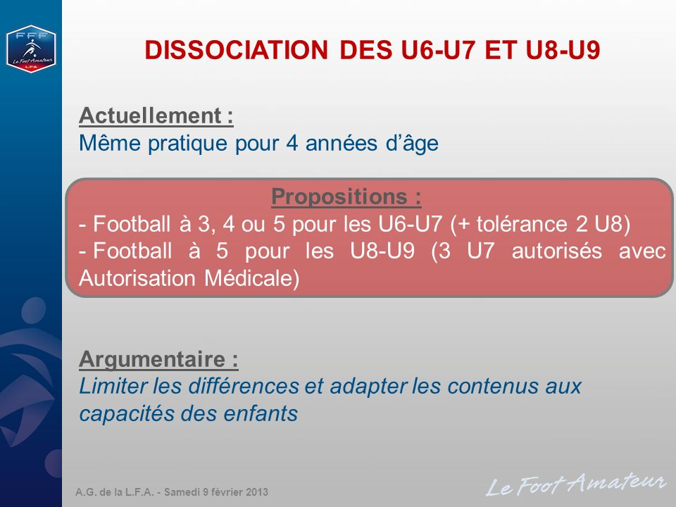 DISSOCIATION DES U6-U7 ET U8-U9