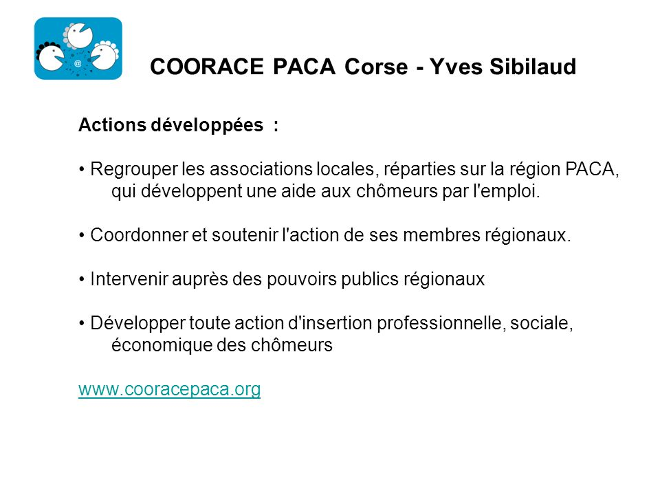COORACE PACA Corse - Yves Sibilaud