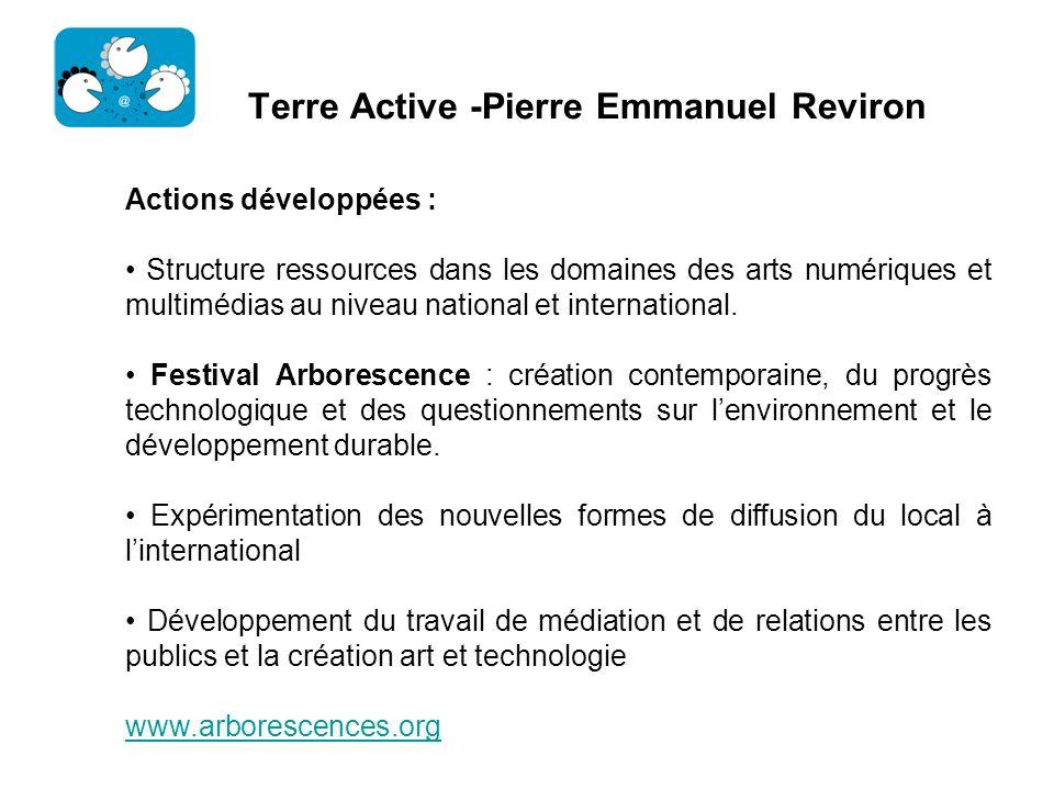 Terre Active -Pierre Emmanuel Reviron