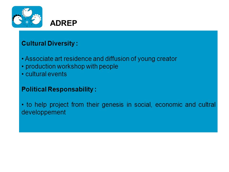 ADREP Cultural Diversity :