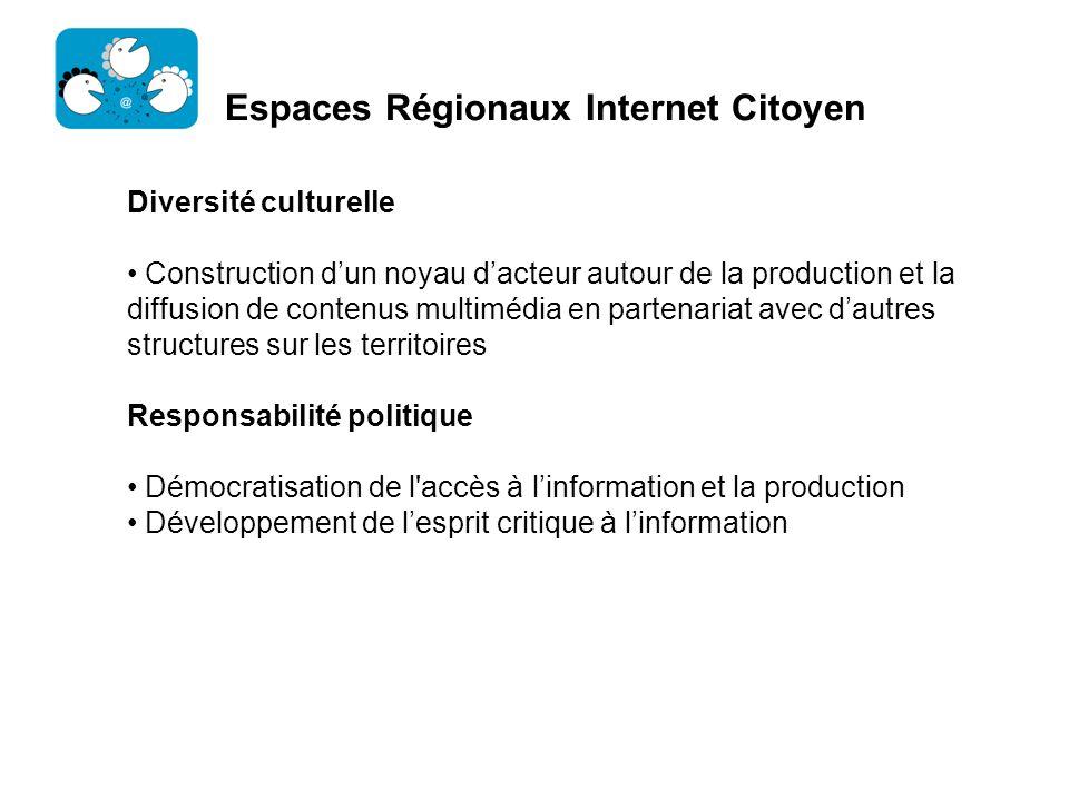 Espaces Régionaux Internet Citoyen