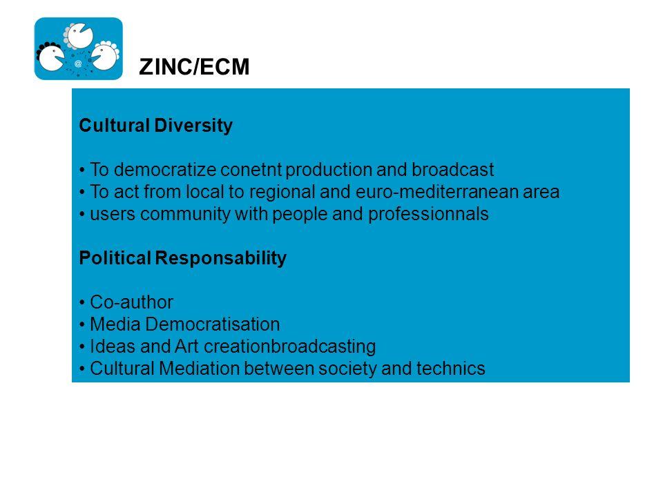 ZINC/ECM Cultural Diversity