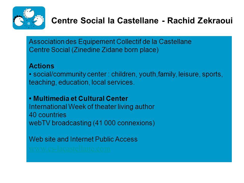 Centre Social la Castellane - Rachid Zekraoui