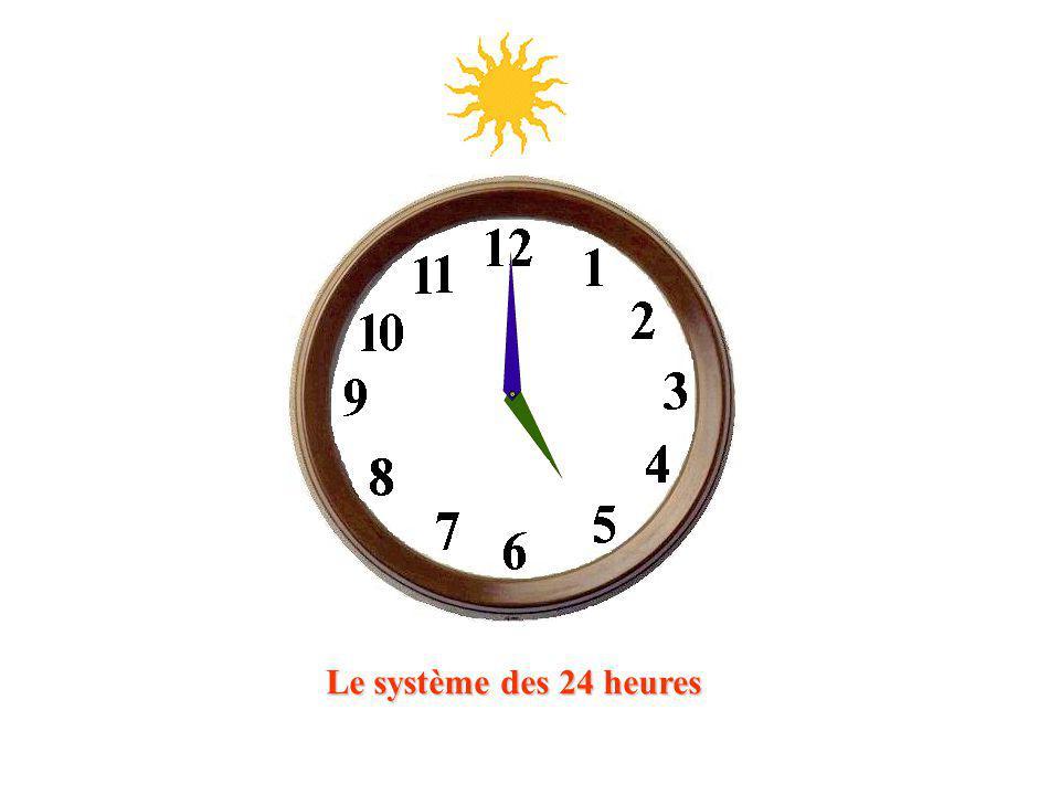 Le système des 24 heures