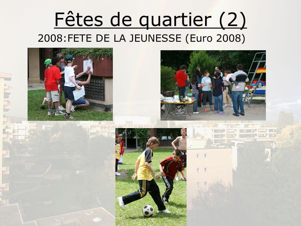 2008:FETE DE LA JEUNESSE (Euro 2008)