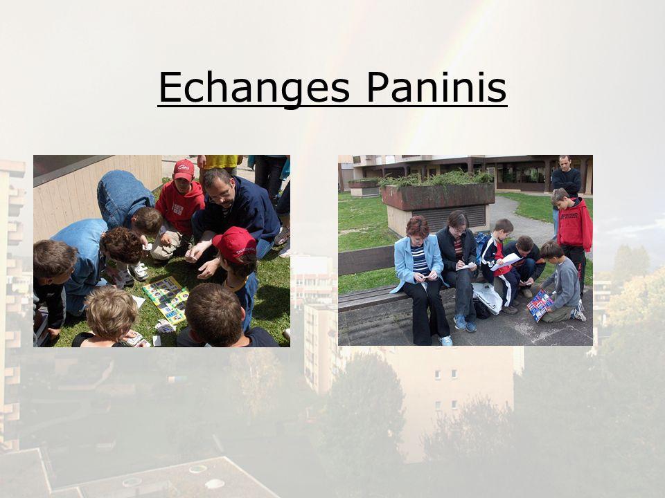 Echanges Paninis