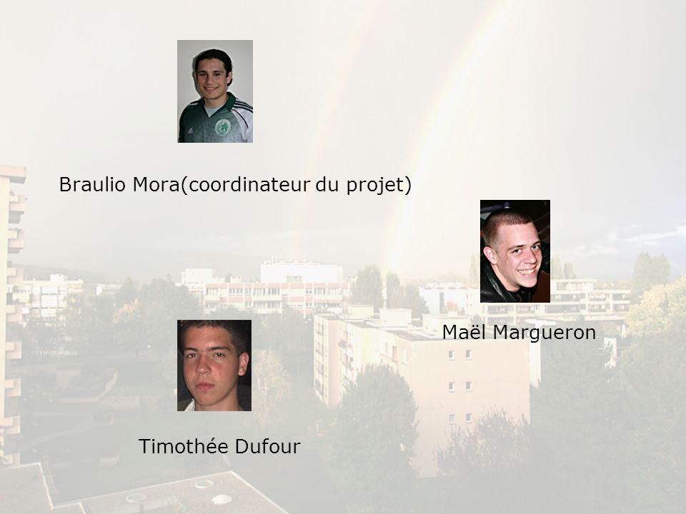 Braulio Mora(coordinateur du projet)