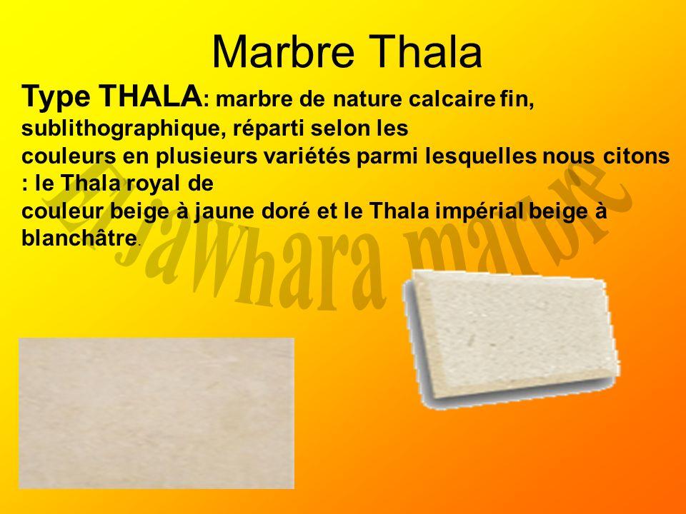 Marbre Thala El jawhara marbre