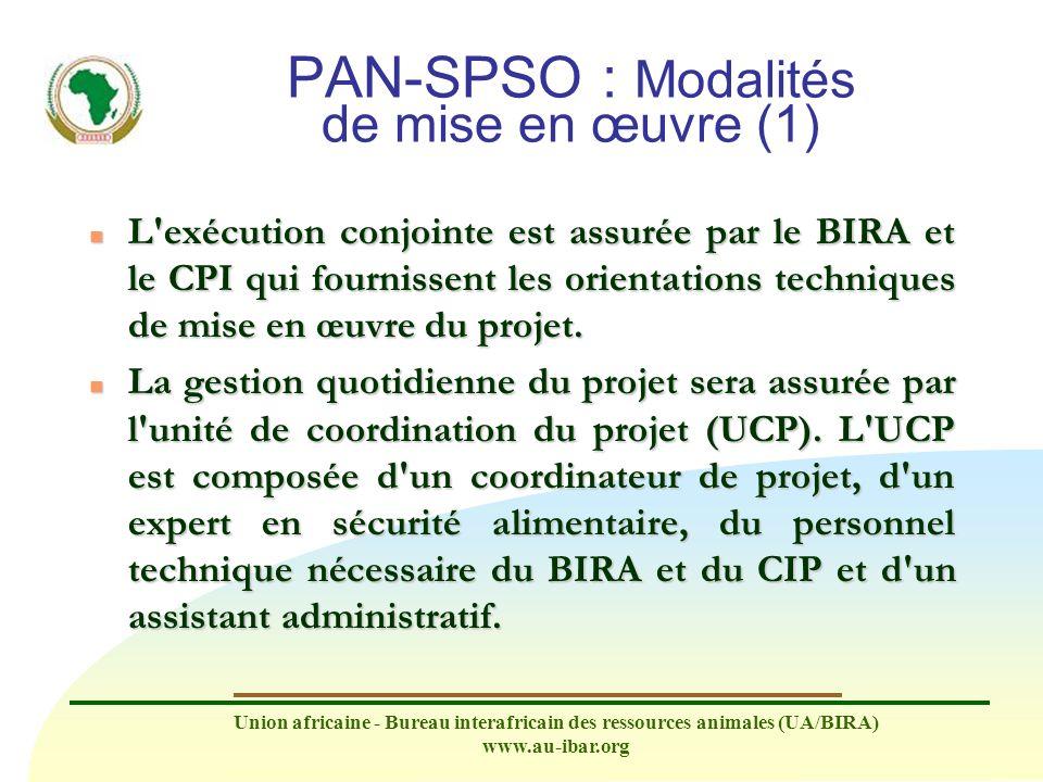 PAN-SPSO : Modalités de mise en œuvre (1)