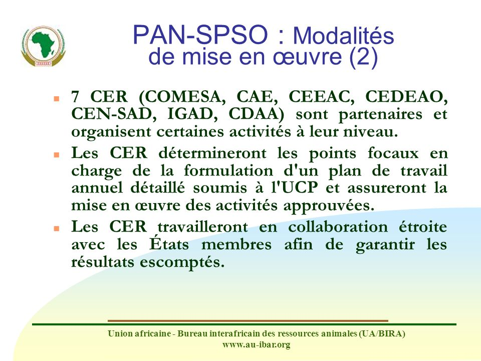 PAN-SPSO : Modalités de mise en œuvre (2)
