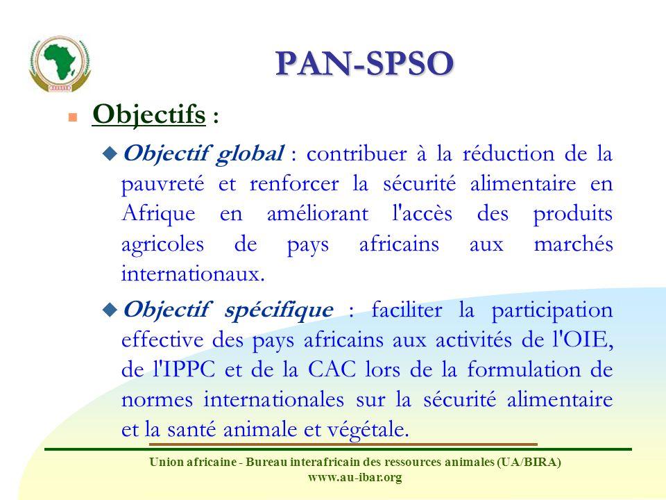 PAN-SPSO Objectifs :