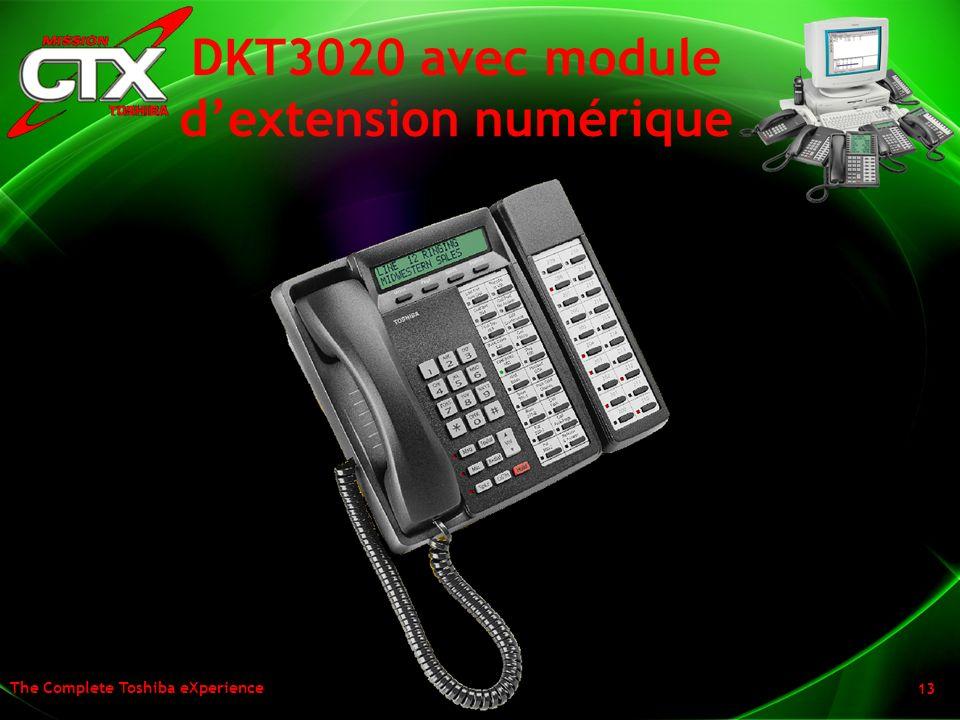 DKT3020 avec module d'extension numérique