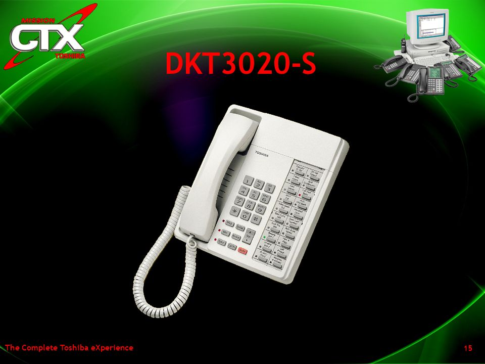 DKT3020-S So what about the non display sets. Well they have been enhanced with the new ergonomics, rounded design and the new handset!