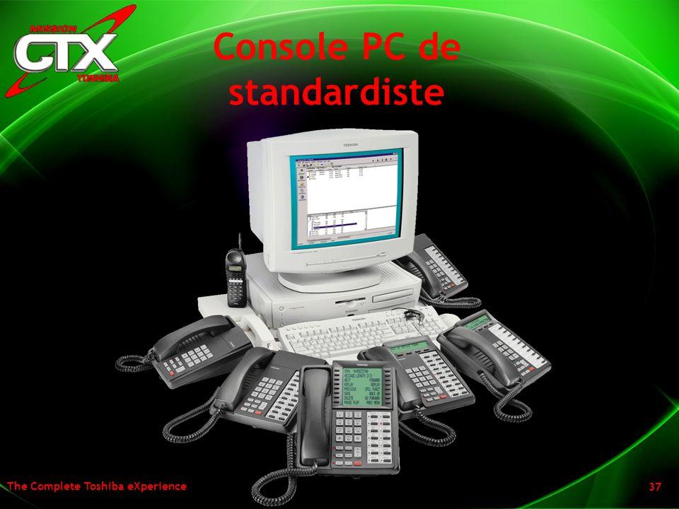 Console PC de standardiste