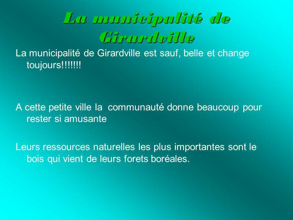 La municipalité de Girardville