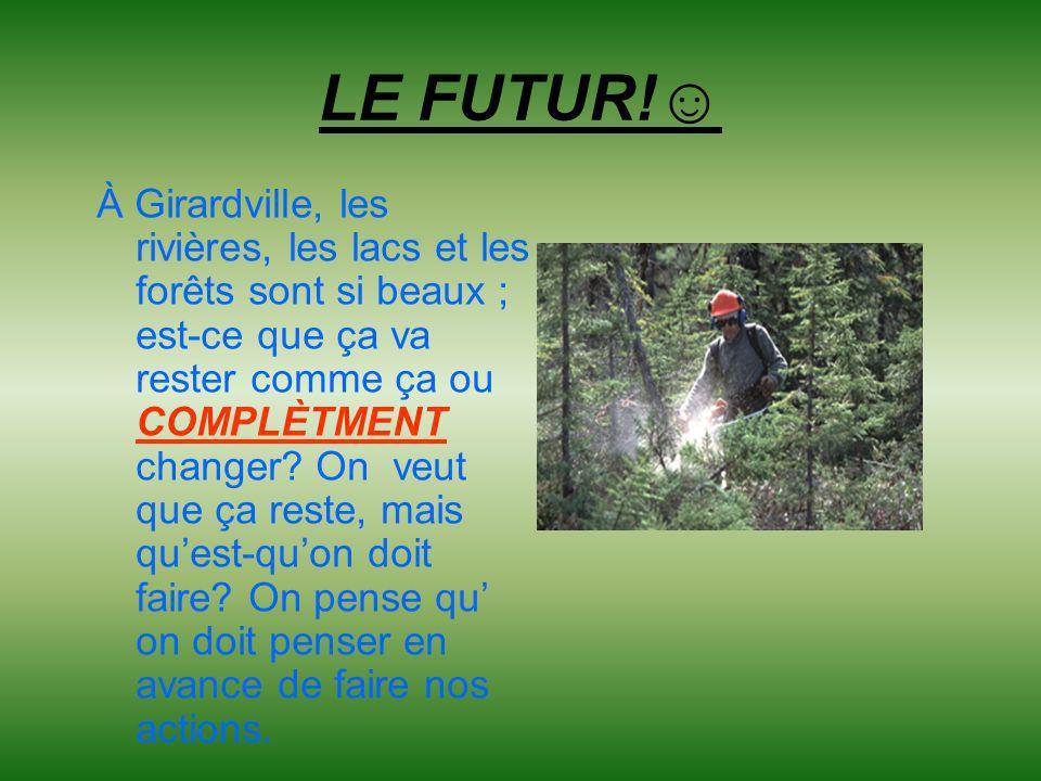 LE FUTUR!☺